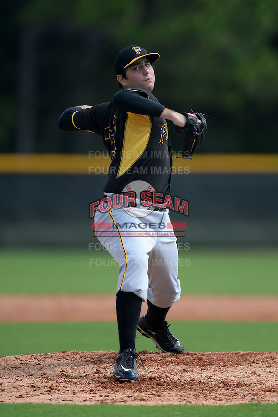 Pittsburgh Pirates pitcher John Sever (29) during an Instructional League game against the Tampa Bay Rays on September 27, 2014 at the Charlotte Sports Park in Port Charlotte, Florida.  (Mike Janes/Four Seam Images)