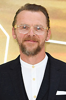 "LONDON, UK. July 30, 2019: Simon Pegg at the UK premiere for ""Once Upon A Time In Hollywood"" in Leicester Square, London.<br /> Picture: Steve Vas/Featureflash"