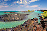 Kiholo Bay on the Big Island of Hawaii