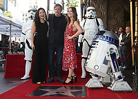 08 March 2018 - Hollywood, California - Kelly Marie Tran, Mark Hamill, Billie Lourd. Mark Hamill Honored With Star On The Hollywood Walk Of Fame.  <br /> CAP/ADM/FS<br /> &copy;FS/ADM/Capital Pictures