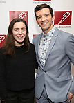 Talene Monahon and Michael Urie attends The New Dramatists 70th Annual Spring Luncheon honoring Nathan Lane at Marriott Marquis on May 14, 2019  in New York City.