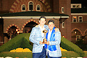 Justin Rose of Team Europe poses with Jose Maria Olazabal after the closing ceremony of the 39th Ryder Cup matches, Medinah Country Club, Chicago, Illinois, USA.  28-30 September 2012 (Picture Credit / Phil Inglis)