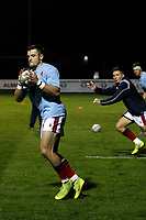 Rob Stevenson of London Scottish during the Championship Cup match between London Scottish Football Club and Yorkshire Carnegie at Richmond Athletic Ground, Richmond, United Kingdom on 4 October 2019. Photo by Carlton Myrie / PRiME Media Images