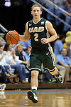 27 December 2014: UAB's Nick Norton. The University of North Carolina Tar Heels played the University of Alabama Birmingham Blazers in an NCAA Division I Men's basketball game at the Dean E. Smith Center in Chapel Hill, North Carolina. UNC won the game 89-58.