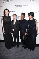 NEW YORK, NY - JANUARY 9: Angelina Jolie, Shiloh Nouvel Jolie-Pitt and Zahara Marley Jolie-Pitt  at The National Board of Review Annual Awards Gala at Cipriani 42nd Street on January 9, 2018 in New York City. <br /> CAP/MPI99<br /> &copy;MPI99/Capital Pictures