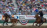 The Team Roping event during the Reno Rodeo on Sunday, June 23, 2019.
