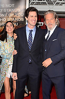 "LOS ANGELES - OCT 8:  Jennifer Connelly, Joseph Kosinski, Jeff Bridges at the ""Only The Brave"" World Premiere at the Village Theater on October 8, 2017 in Westwood, CA"