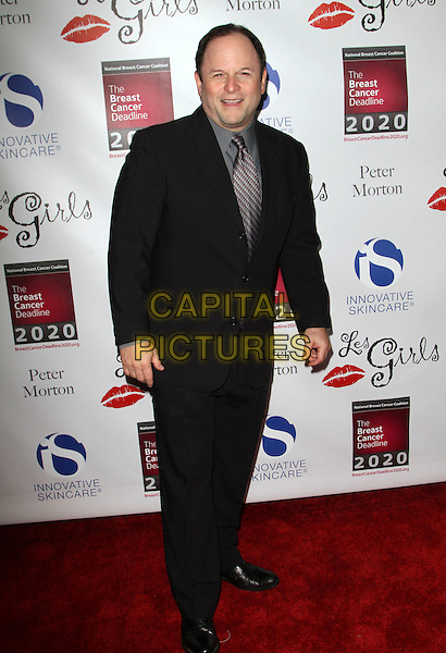 Jason Alexander.Les Girls Enticing 11th Annual Cabaret Event Held At Avalon, Hollywood, California, USA..October 17th, 2011.full length black suit grey gray shirt.CAP/ADM/KB.©Kevan Brooks/AdMedia/Capital Pictures.