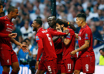 Liverpool team during UEFA Champions League match, Final Roundl between Tottenham Hotspur FC and Liverpool FC at Wanda Metropolitano Stadium in Madrid, Spain. June 01, 2019.(ALTERPHOTOS/Manu R.B.)