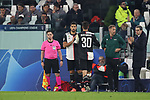 Rodrigo Bentancur of Juventus is substituted for Sami Khedira during the UEFA Champions League match at Juventus Stadium, Turin. Picture date: 26th November 2019. Picture credit should read: Jonathan Moscrop/Sportimage