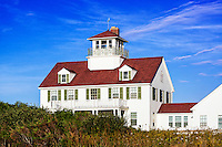Coast Guard Station house, Coast Guard Beach, Eastham, Cape Cod, Massachusetts, USA