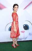 NEW YORK, NY-June 25: Jenny Slate at Universal Pictures & Illumination Entertainment present the premiere of The Secret Life of Pets  at the  David H. Koch Theartre Lincoln Center in New York. NY June 25, 2016. Credit:RW/MediaPunch