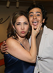 """Andrea Burns and Mateo Ferro attends the Opening Night performance afterparty for ENCORES! Off-Center production of """"Working - A Musical""""  at New York City Center on June 26, 2019 in New York City."""