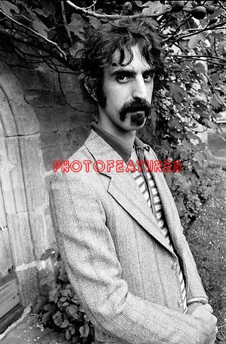 Frank Zappa 1970<br /> &copy; Chris Walter