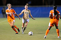 21 August 2011:  FIU's April Perry (6) and Florida's Havana Solaun (19) pursue the ball in the second half as the University of Florida Gators defeated the FIU Golden Panthers, 2-0, at University Park Stadium in Miami, Florida.