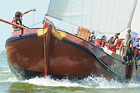 SKÛTSJESILEN: STAVOREN: IJsselmeer, 03-08-2015, 2e wedstrijd IFKS kampioenschap, A-klasse, ©foto Martin de Jong