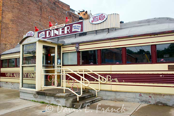 The Miss Albany Diner in Albany New York