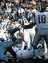 Baltimore Colts Bubba Smith(78) in action during a game against the Los Angeles Rams at Memorial Stadium in Baltimore, Maryland.