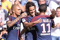 20 Layvin KURZAWA (psg) - 09 Edinson CAVANI (psg) - Esultanza Gol  <br /> PSG - Amiens 05-08-2017 <br /> Calcio Ligue 1 2017/2018 <br /> Foto Panoramic/insidefoto