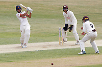 Feroze Khushi of Essex hits four runs during Essex CCC vs Surrey CCC, Bob Willis Trophy Cricket at The Cloudfm County Ground on 8th August 2020