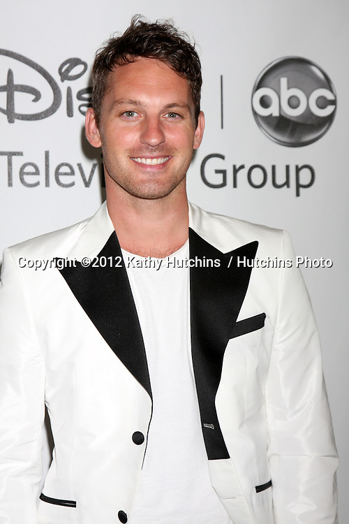 LOS ANGELES - JUL 27:  Tristan MacManus arrives at the ABC TCA Party Summer 2012 at Beverly Hilton Hotel on July 27, 2012 in Beverly Hills, CA