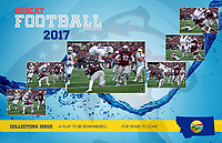 2017 Bobcat Football Magazine — Review & Preview (cover)