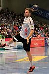 09.11.2019, Hansehalle Luebeck, GER,  2.Bundesliga Handball VfL Luebeck-Schwartau - TV Emsdetten<br /> <br /> im Bild / picture shows<br /> Einzelaktion/Aktion. Ganze Figur. Einzeln. Freisteller. Dirk Holzner (TV Emsdetten)<br /> <br /> Foto © nordphoto / Tauchnitz