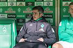 08.03.2019, Weser Stadion, Bremen, GER, 1.FBL, Werder Bremen vs FC Schalke 04, <br /> <br /> DFL REGULATIONS PROHIBIT ANY USE OF PHOTOGRAPHS AS IMAGE SEQUENCES AND/OR QUASI-VIDEO.<br /> <br />  im Bild<br />  auf der Ersatzbank Fin Bartels (Werder Bremen #22)<br /> <br /> <br /> <br /> Foto &copy; nordphoto / Kokenge
