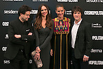 Eva Gonzalez and Master Chef Judges attend the photocall of the Cosmopolitan Fun Fearless Female 2014 Awards at the Ritz Hotel in Madrid, Spain. October 20, 2014. (ALTERPHOTOS/Carlos Dafonte)