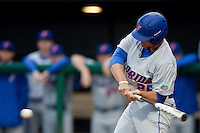 March 29, 2011:    Florida Gators inf/of Preston Tucker (25) during action between Florida Gators and Florida State Seminoles played at the Baseball Grounds of Jacksonville in Jacksonville, Florida.  Florida State defeated Florida 5-2............
