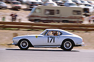 August 26th 1984, Laguna Seca Raceway, CA. 1959 Ferrari 250 GT Berlinetta. This is the largest concentration of Ferrari, more than 3.000 models and proud owners show their cars and race with them.