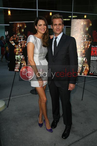 "Jacinda Barrett and Gabriel Macht<br /> at the ""Middle Men"" Los Angeles Premiere, Arclight, Hollywood, CA. 08-05-10<br /> David Edwards/DailyCeleb.com 818-249-4998"