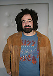 Counting Crow's Adam Duritz at the opening night of the Broadway play Rock of Ages on October 16, 2008 at the New World Stages Theatre with curtain call and the after party at Marquee, New York City, New York. (Photo by Sue Coflin/Max Photos)