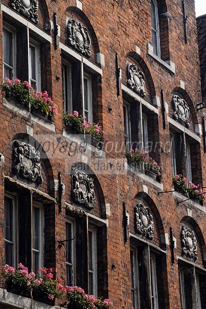 Europe/Belgique/Flandre/Flandre Occidentale/Bruges : Maison Philipstock-Straat