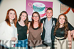 16th Birthday : Alana Brent, Tarbert celebrating her 16th birthday with friends at Casa Mia's Restaurant, Listowel on Friday night last. L - R : Grace McElligott, Lisa Galvin, Alana Brent, Roy Lawlaor & Kaytlinn Barry.