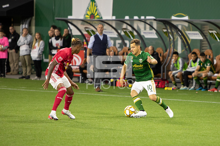 Portland, Oregon - Sunday September 18 2019: The Portland Timbers vs Red Bull New York at Providence Park