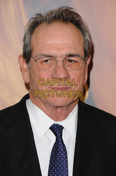 Tommy Lee Jones.'Hope Springs' - New York Premiere, New York, NY, USA..August 6th, 2012.headshot portrait white tie glasses blue polka dot black suit  .CAP/ADM/MSA.©Mario Santoro /AdMedia/Capital Pictures.