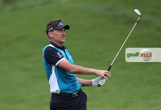 Ian Poulter (ENG) dropped two shots on 4 and 7 for a good recovery round of 67 (-5) during Round Three of the 2014 Volvo China Open, Genzon Golf Club, Shenzhen, China. Picture:  David Lloyd / www.golffile.ie