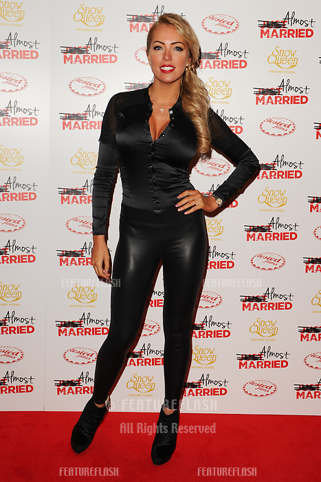 "Aisleyne Horgan Wallace arives for the ""Almost Married"" Gala Screening at the Mayfair Hotel, London. 26/03/2014 Picture by: Steve Vas / Featureflash"