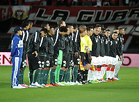 BOGOTA - COLOMBIA -27 -01-2015: Independiente Santa Fe y Atletico Nacional durante partido de vuelta por la Super Liga 2015. / Independiente Santa Fe and Atletico Nacional during the match for the second leg of the Super Liga 2015 at the Nemesio Camacho El Campin Stadium in Bogota city. Photo: VizzorImage / Luis Ramirez / Staff.