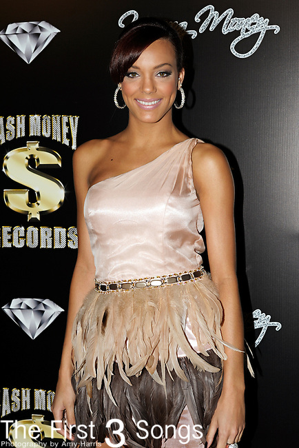 Singer CECE SEGARRA attends the Cash Money Records Annual Pre-Grammy Awards Party at the Lot in West Hollywood on Saturday, February 12, 2011.