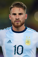 PEREIRA, COLOMBIA - JANUARY 18:  Argentina's Alexis Mac Allister during his CONMEBOL Pre-Olympic soccer game  against Colombia at the Hernan Ramirez Villegas Stadium on January 18, 2020 in Pereira, Colombia. (Photo by Daniel Munoz/VIEW press/Getty Images)