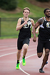 Kellen Corson of the UNC-Pembroke Braves competes in the men's 800M run on Day Two of the VertKlasse Meeting at Vert Stadium on the campus of High Point University on April 1, 2016 in High Point, North Carolina.  (Brian Westerholt/Sports On Film)
