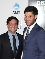HOLLYWOOD, CA - NOVEMBER 12: Michael Weber,Scott Neustadter, at the AFI Fest 2017 Centerpiece Gala Presentation of The Disaster Artist on November 12, 2017 at the TCL Chinese Theatre in Hollywood, California. Credit: Faye Sadou/MediaPunch /NortePhoto.com
