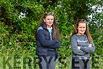 Anita Sullivan and Karen Murphy watching the horse racing action at the Castleisland Races on Sunday