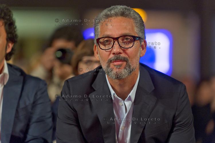 Pescara 14/07/2013: 40a Edizione del Film Festival Ennio Flaiano. In foto Giuseppe Fiorello, ritira il Pegaso d'Oro. foto credit Adamo Di Loreto/BuenaVista*photo