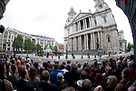 """QUEEN'S JUBILEE Service.General view of St Paul's before today's service.The Diamond Jubilee weekend culminated with a day of celebrations in central London, including a service at St Paulís Cathedral followed by two receptions, a lunch at Westminster Hall, a Carriage Procession to Buckingham Palace and finally a Balcony appearance, Flypast, and Feu de Joie..London. 05/06/2012.Mandatory Credit Photo: ©A Linnett/NEWSPIX INTERNATIONAL..**ALL FEES PAYABLE TO: """"NEWSPIX INTERNATIONAL""""**..IMMEDIATE CONFIRMATION OF USAGE REQUIRED:.Newspix International, 31 Chinnery Hill, Bishop's Stortford, ENGLAND CM23 3PS.Tel:+441279 324672  ; Fax: +441279656877.Mobile:  07775681153.e-mail: info@newspixinternational.co.uk"""