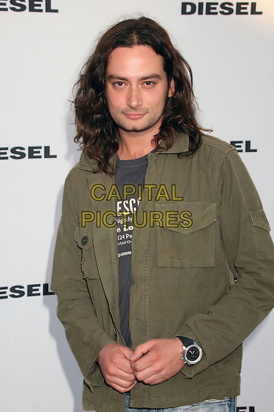 CONSTANTINE MAROULIS.Diesel Store Opening on Melrose Place, West Hollywood, California, USA..May 30th, 2007.half length green jacket .CAP/ADM/BP.©Byron Purvis/AdMedia/Capital Pictures