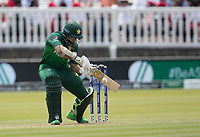 Imam-ul-Haq (Pakistan) runs the ball down to third man during Pakistan vs Bangladesh, ICC World Cup Cricket at Lord's Cricket Ground on 5th July 2019