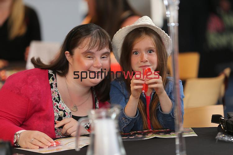 Welsh Netball World Cup Reception<br /> Millennium Stadium<br /> 11.07.15<br /> ©Steve Pope - SPORTINGWALES